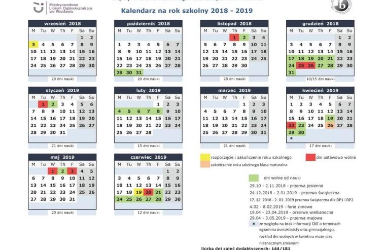 Kalendarz na rok szk 2018-19_MLO_rodzice