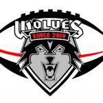 Wolves Athletic Program American Football  logo