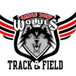 Wolves Athletic Program Track and Field logo