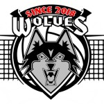 Wolves Athletic Program Volleyball logo