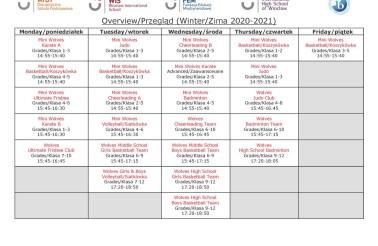 Wolves Athletics Winter Season Schedule (2)