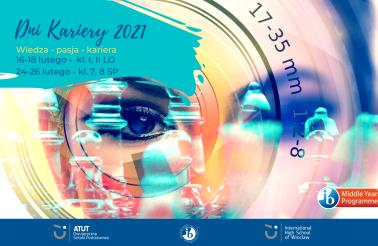 Plakat Dni Kariery w Międzynarodowym Liceum Ogólnokształcącym we Wrocławiu